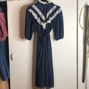 Vintage 1980s Secretary Dress